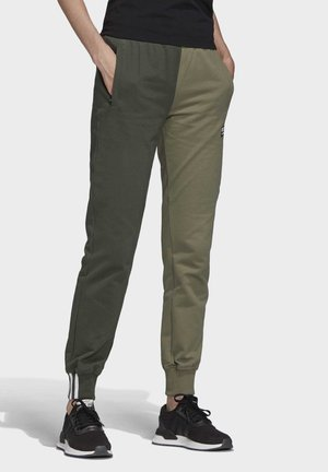 CUFFED PANTS - Trainingsbroek - green