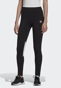 adidas Originals - BELLISTA - Leggings - Trousers - black - 0