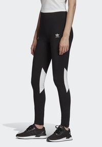 adidas Originals - BELLISTA - Leggings - Trousers - black