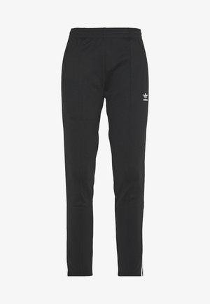 PANTS - Spodnie treningowe - black/white