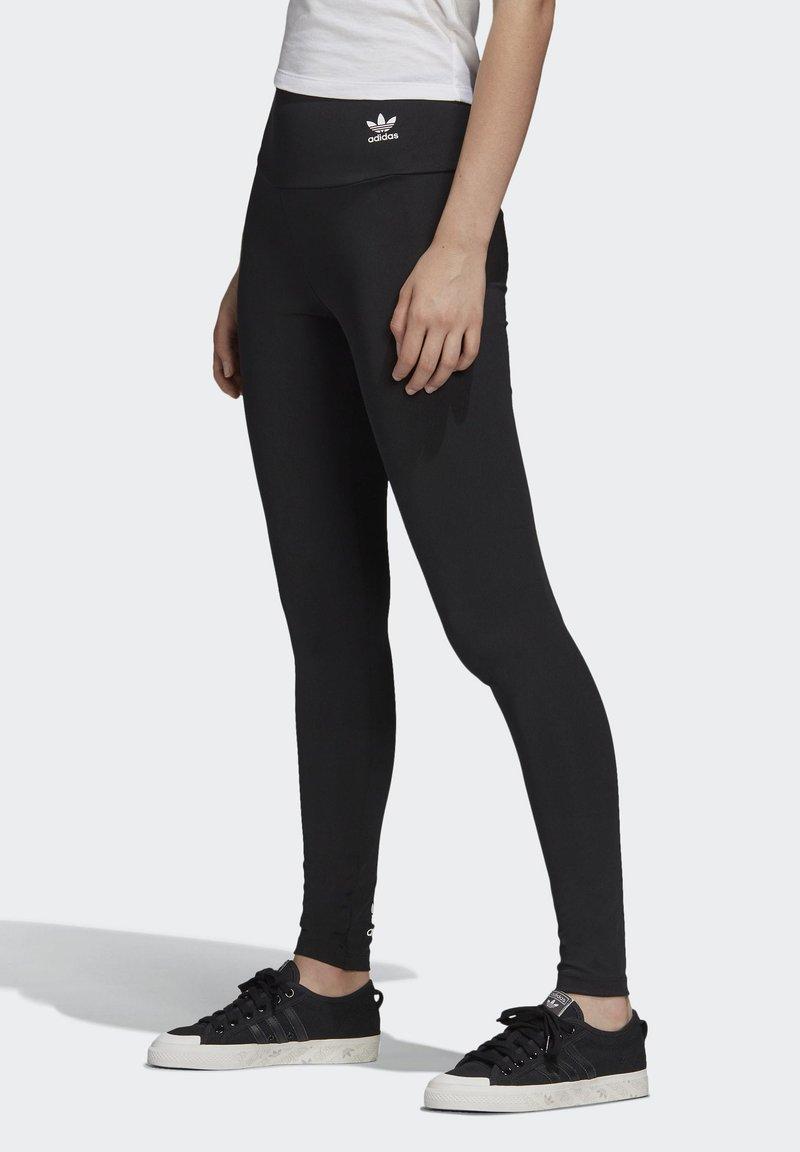 adidas Originals - ADICOLOR LEGGINGS - Leggings - black