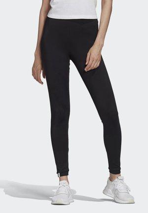 LEGGINGS - Leggings - Trousers - black