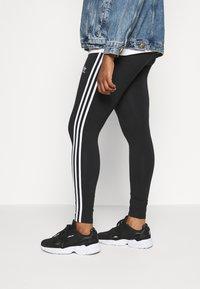 adidas Originals - TIGHT - Leggings - black/white - 3