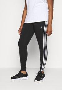 adidas Originals - TIGHT - Leggings - black/white - 0