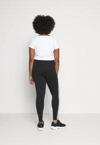 adidas Originals - TIGHT - Leggings - black/white - 2