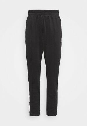 PANTS - Tracksuit bottoms - black/white