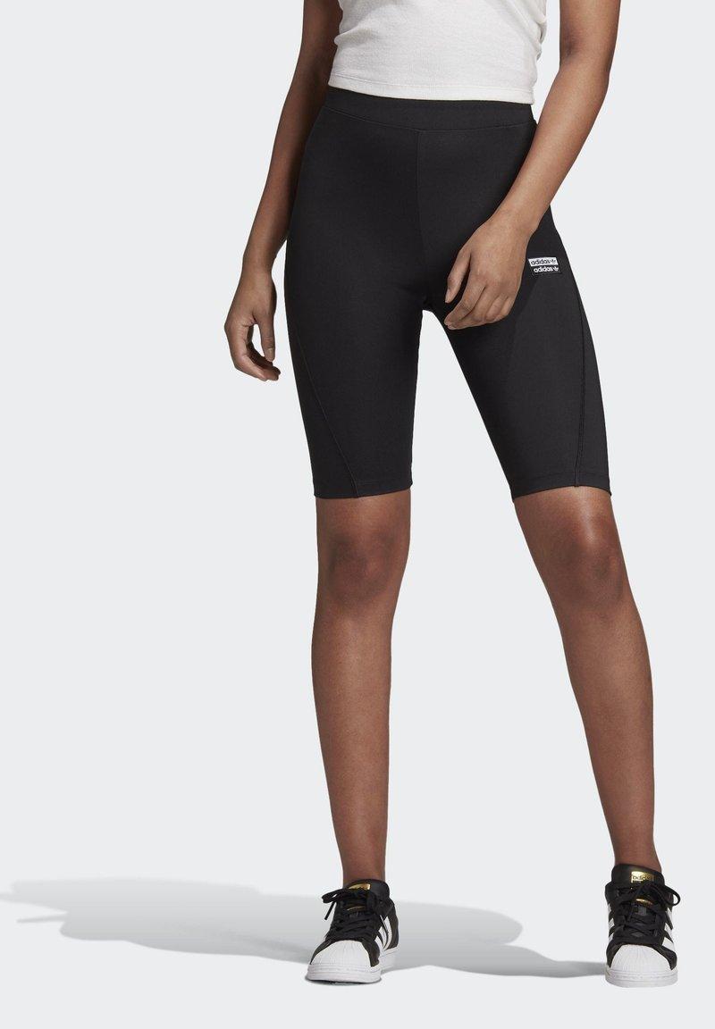 adidas Originals - R.Y.V. SHORT TIGHTS - Shorts - black