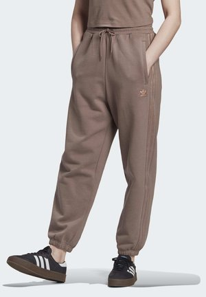 CUFFED JOGGERS - Joggebukse - brown