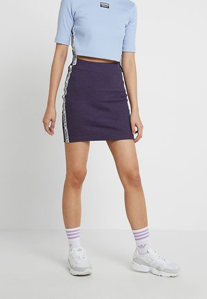 TAPE SKIRT - Minisukně - trace purple