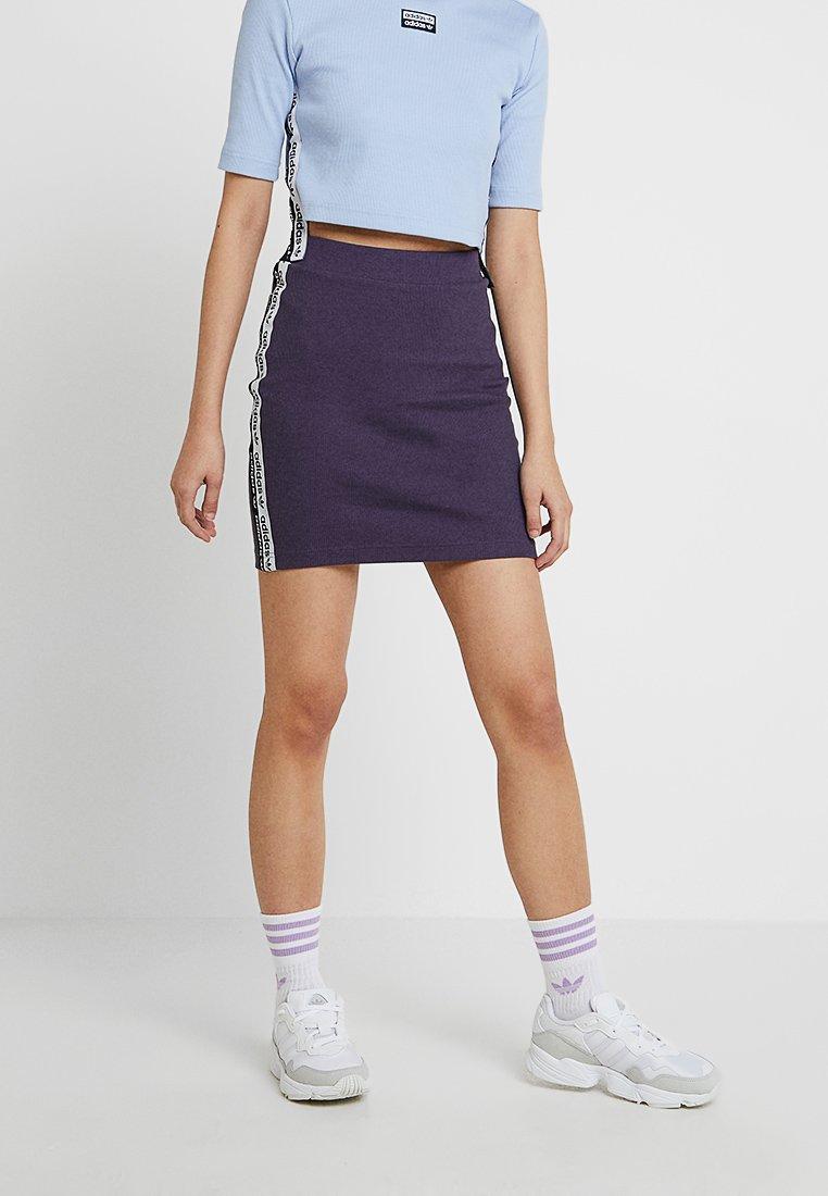 adidas Originals - TAPE SKIRT - Minirock - trace purple