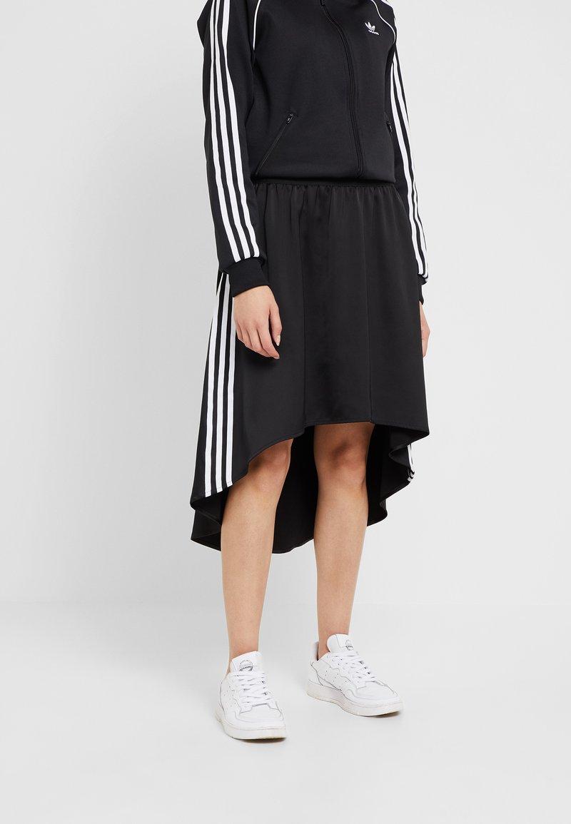 adidas Originals - Áčková sukně - black