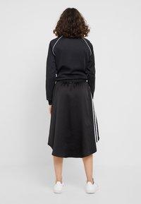 adidas Originals - Áčková sukně - black - 2
