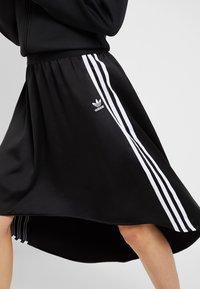 adidas Originals - Áčková sukně - black - 5