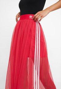 adidas Originals - SKIRT - Áčková sukně - energy pink - 4