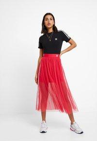 adidas Originals - SKIRT - Áčková sukně - energy pink - 1