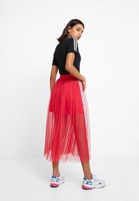 adidas Originals - SKIRT - Áčková sukně - energy pink - 2