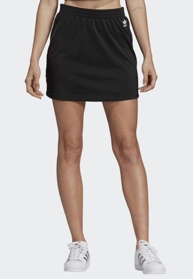STYLING COMPLEMENTS SKIRT - Spódnica trapezowa - black