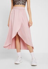 adidas Originals - ASYM SKIRT - Kietaisuhame - pink spirit - 0