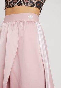 adidas Originals - ASYM SKIRT - Kietaisuhame - pink spirit - 4