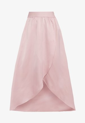ASYM SKIRT - Spódnica z zakładką - pink spirit