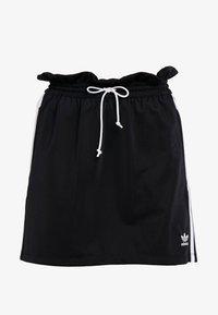 adidas Originals - BELLISTA 3 STRIPES SKIRT - Minirock - black - 3