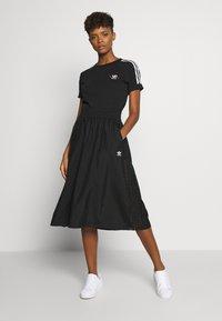 adidas Originals - SKIRT - Spódnica trapezowa - black - 1