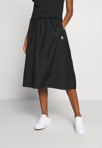 adidas Originals - SKIRT - Spódnica trapezowa - black - 0