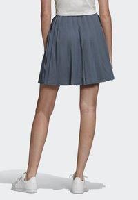 adidas Originals - SKIRT - Faltenrock - blue - 1