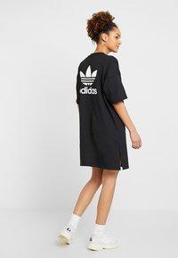 adidas Originals - TREFOIL DRESS - Jerseykjoler - black - 2