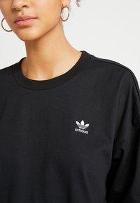 adidas Originals - TREFOIL DRESS - Jerseykjoler - black - 4