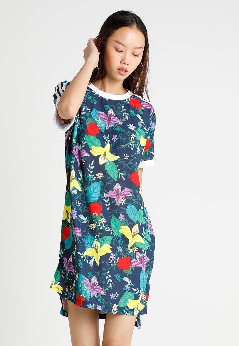 adidas Originals - GRAPHIC DRESS - Vestido ligero - multicolor