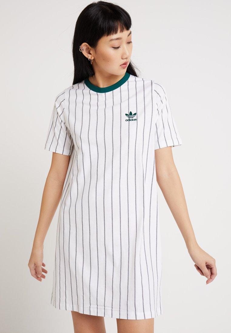adidas Originals - TEE DRESS - Jerseyjurk - white
