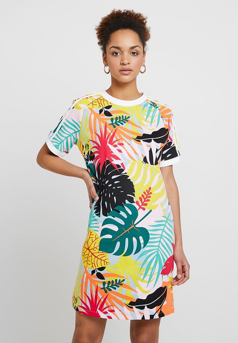 adidas Originals - TEE DRESS - Freizeitkleid - multicolor