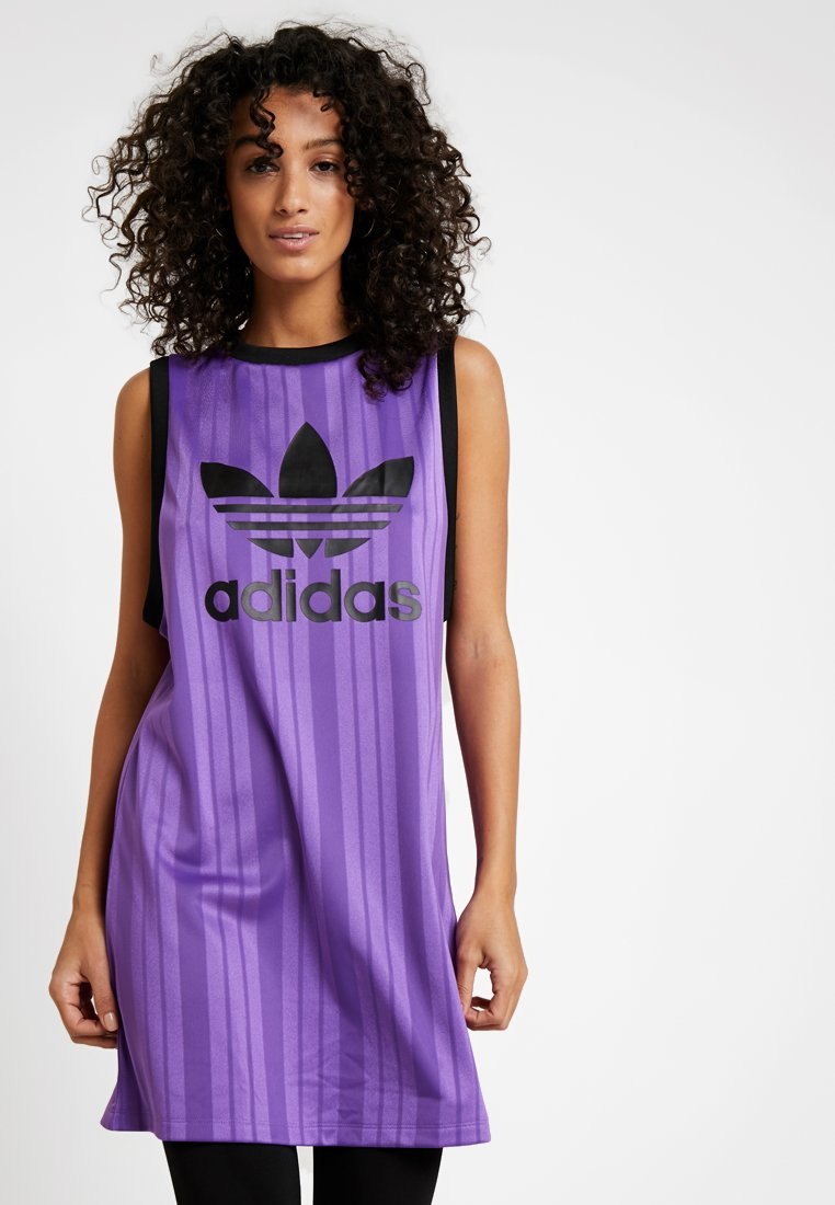 adidas Originals - LONG TANK - Toppe - active purple