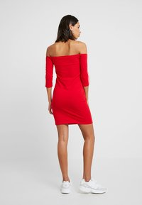 adidas Originals - SHOULDER DRESS - Shift dress - scarlet - 2