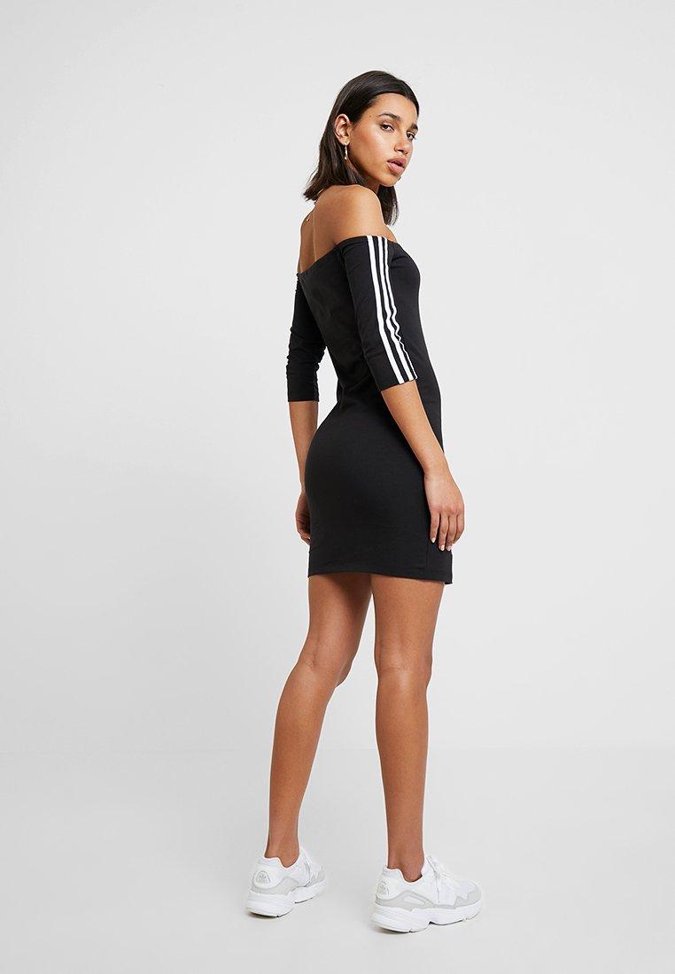 Originals Shoulder Fourreau Black Adidas DressRobe gIYybf76v
