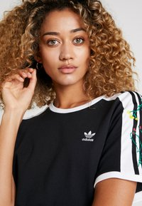 adidas Originals - DRESS - Jerseykjole - black - 3