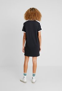 adidas Originals - DRESS - Jerseykjole - black - 2
