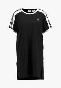 adidas Originals - DRESS - Jerseykjole - black - 4