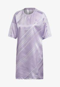 adidas Originals - TREFOIL DRESS - Day dress - purple - 7