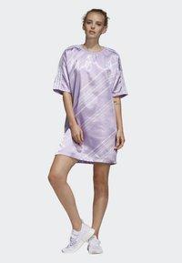 adidas Originals - TREFOIL DRESS - Day dress - purple - 1