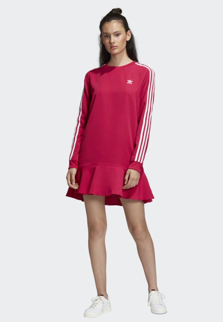 adidas Originals - DRESS - Jerseykleid - pink
