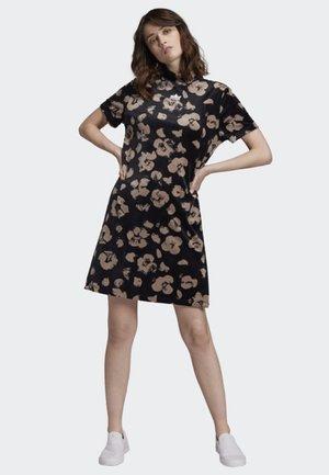BELLISTA VELVET DRESS - Day dress - black