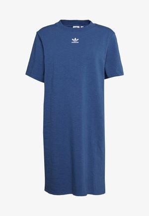 ADICOLOR TREFOIL DRESS - Jersey dress - night marine