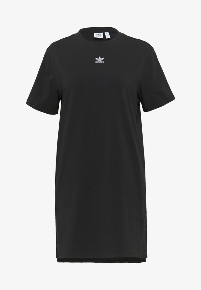 ADICOLOR TREFOIL DRESS - Jerseyjurk - black/white