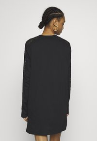 adidas Originals - BELLISTA TREFOIL LONGSLEEVE LACE DRESS - Trikoomekko - black - 2