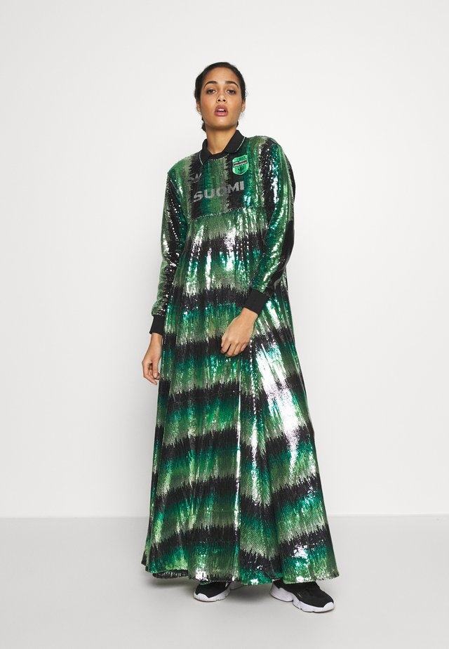 DRESS SUOMI - Długa sukienka - multicolor/mist jade