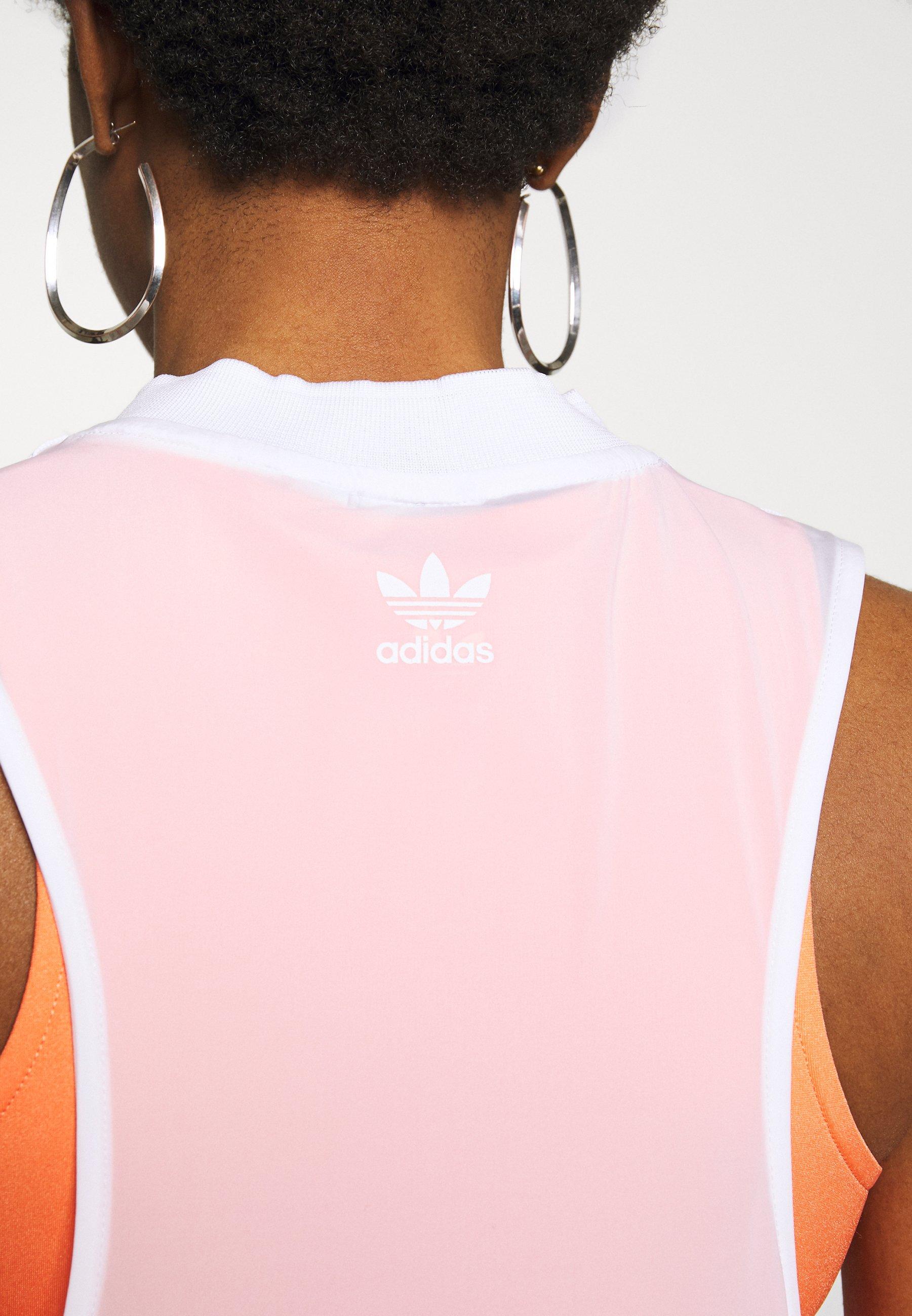 Adidas Originals Dress - Jerseyjurk White