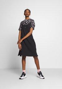 adidas Originals - FAKTEN TREFOIL TANK DRESS - Jersey dress - black - 1
