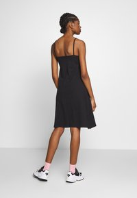 adidas Originals - FAKTEN TREFOIL TANK DRESS - Jersey dress - black - 2